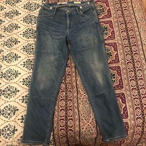 Anthropologie boyfriend jeans